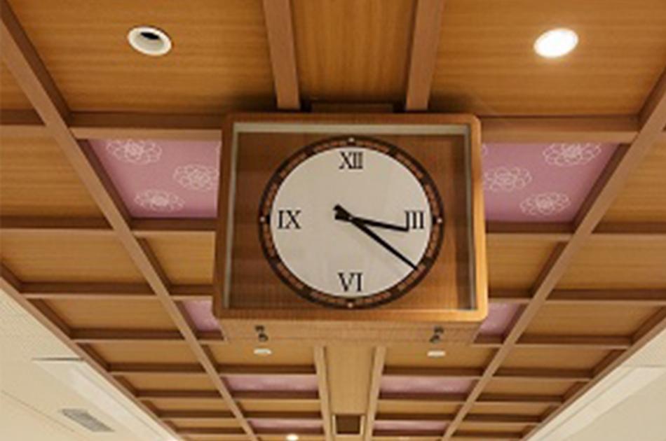 近鉄奈良コンコース時計